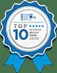 Accredation Logo Top10